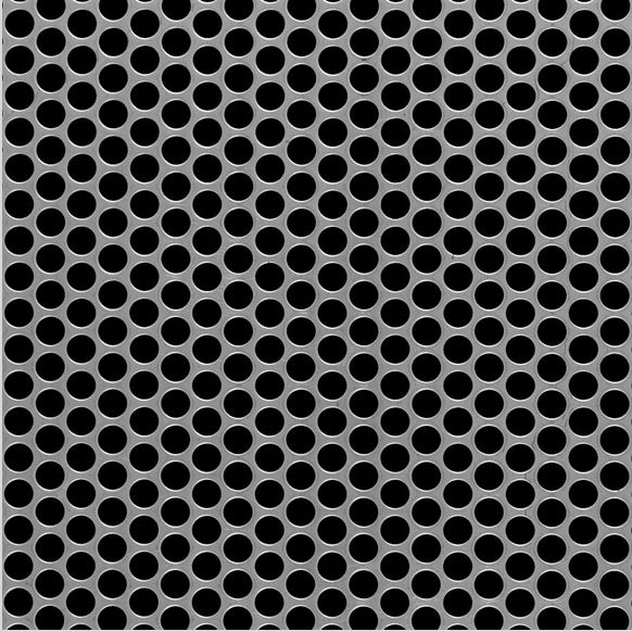 McNICHOLS carbon steel perforated metal