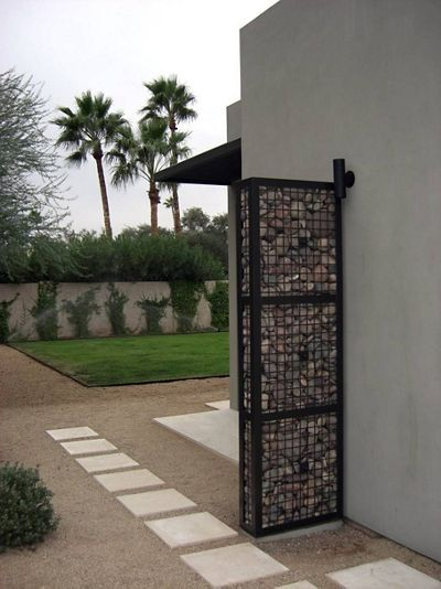 Residential wall partition made of McNICHOLS ECO-ROCK in Phoenix, AZ