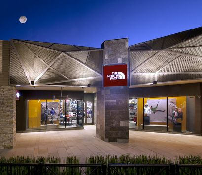 McNICHOLS Expanded Metal applied as a building facade in Corte Madera, CA