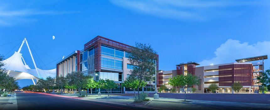 McNICHOLS Expanded Metal is selected as a building facade in Scottsdale, AZ