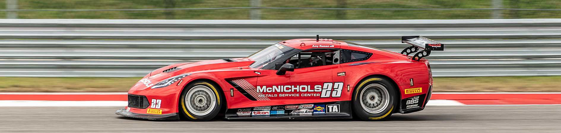 Ruman Racing Sponsored Corvette | McNICHOLS®