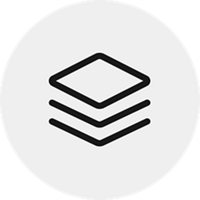 stack of materials icon