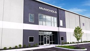 A new McNICHOLS metals service center.