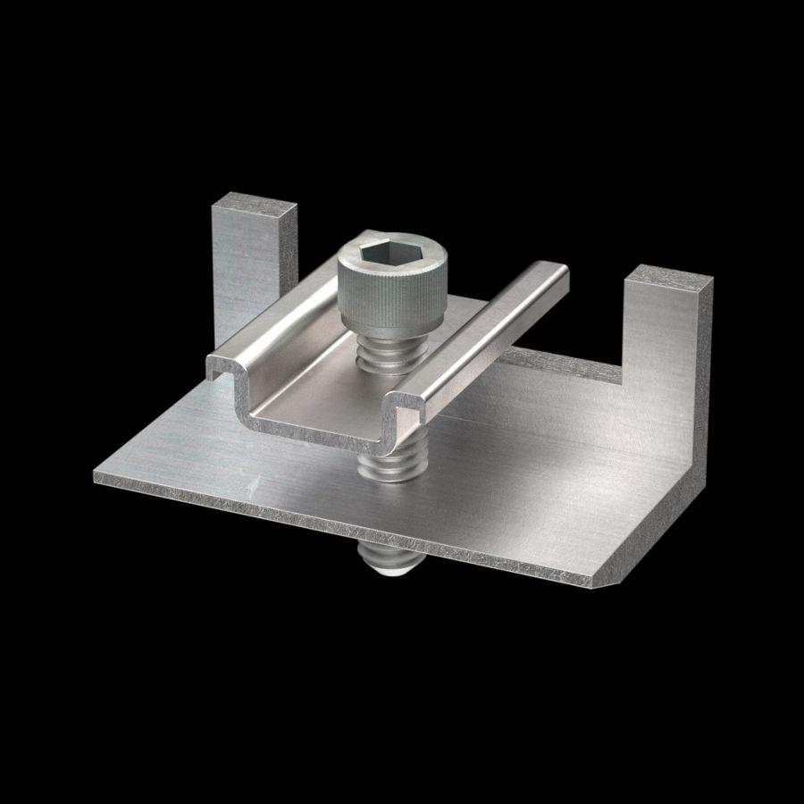 McNICHOLS® Accessories Fastener, Aluminum, Aluminum Alloy, Type TB-50 Insert (Hardware Integral with Insert)