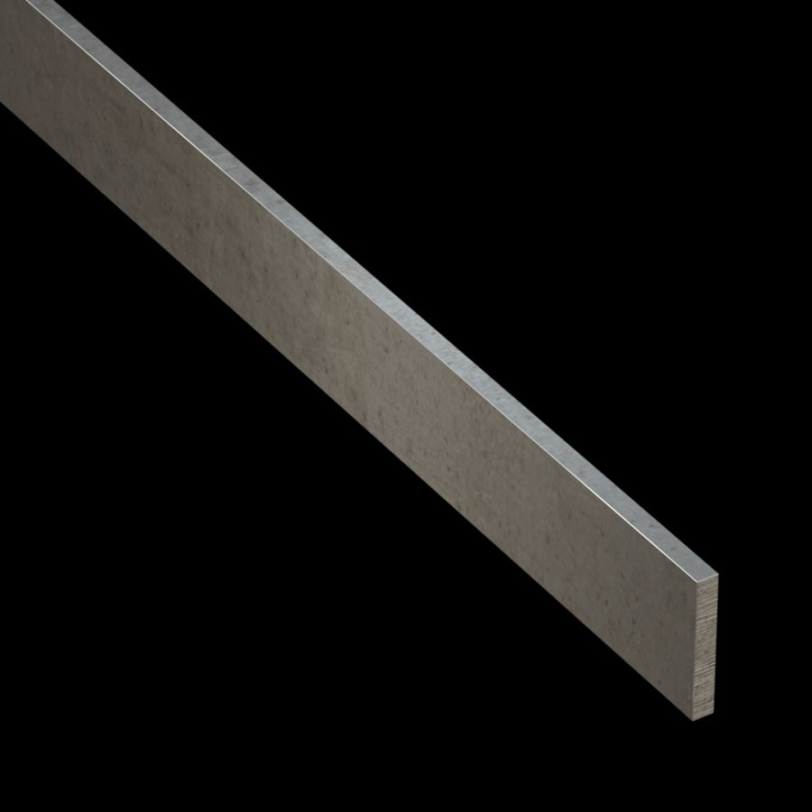 "McNICHOLS® Accessories Flat Bar, Stainless Steel, 3/16"" Gauge (.1875"" Thick), Flat Bar (1-1/4"" Width)"