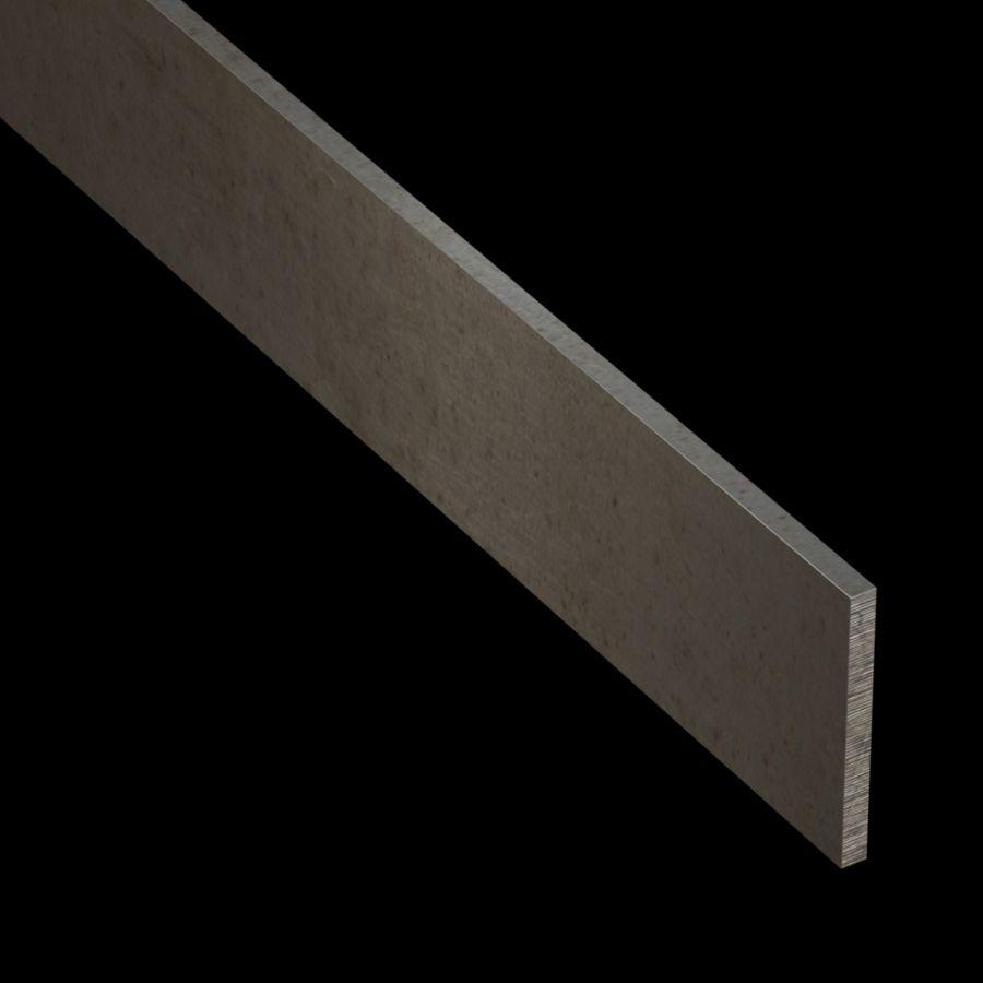 "McNICHOLS® Accessories Flat Bar, Carbon Steel, 3/16"" Gauge (.1875"" Thick), Flat Bar (2"" Width)"