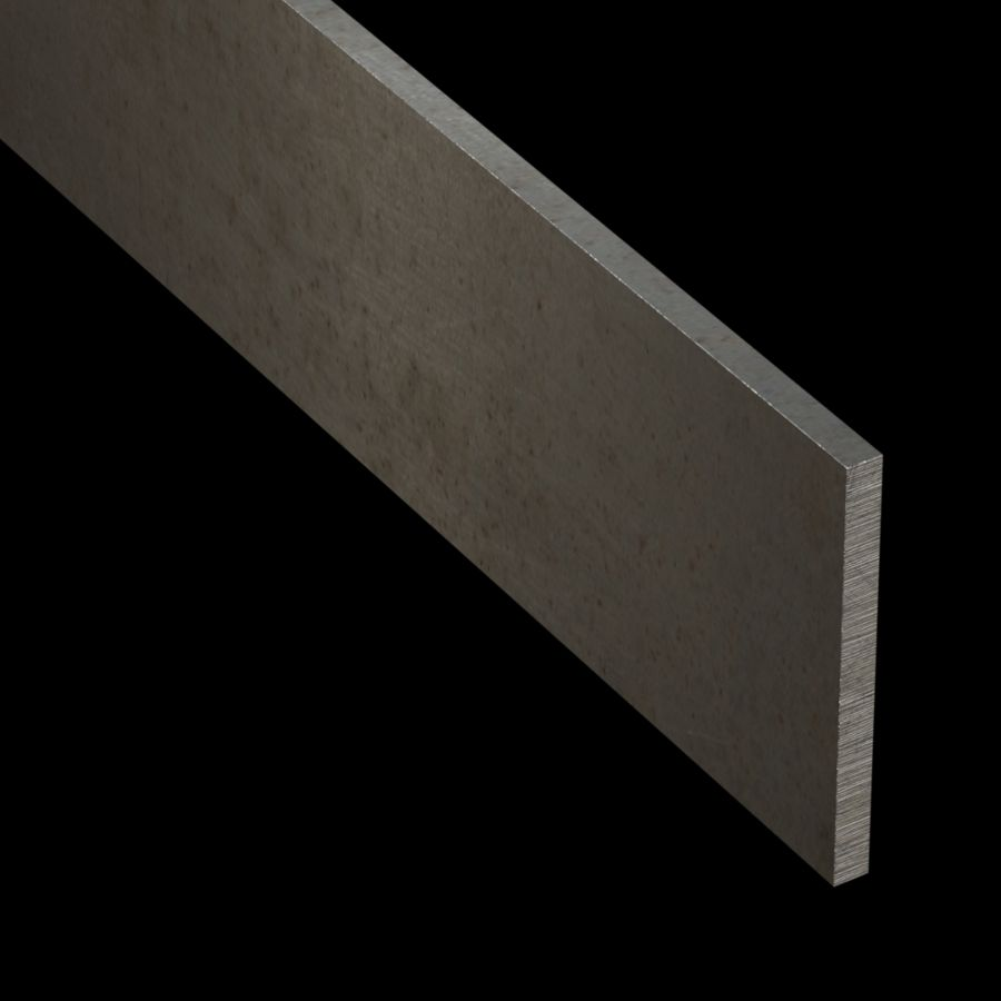 "McNICHOLS® Accessories Flat Bar, Carbon Steel, 1/4"" Gauge (.2500"" Thick), Flat Bar (3"" Width)"