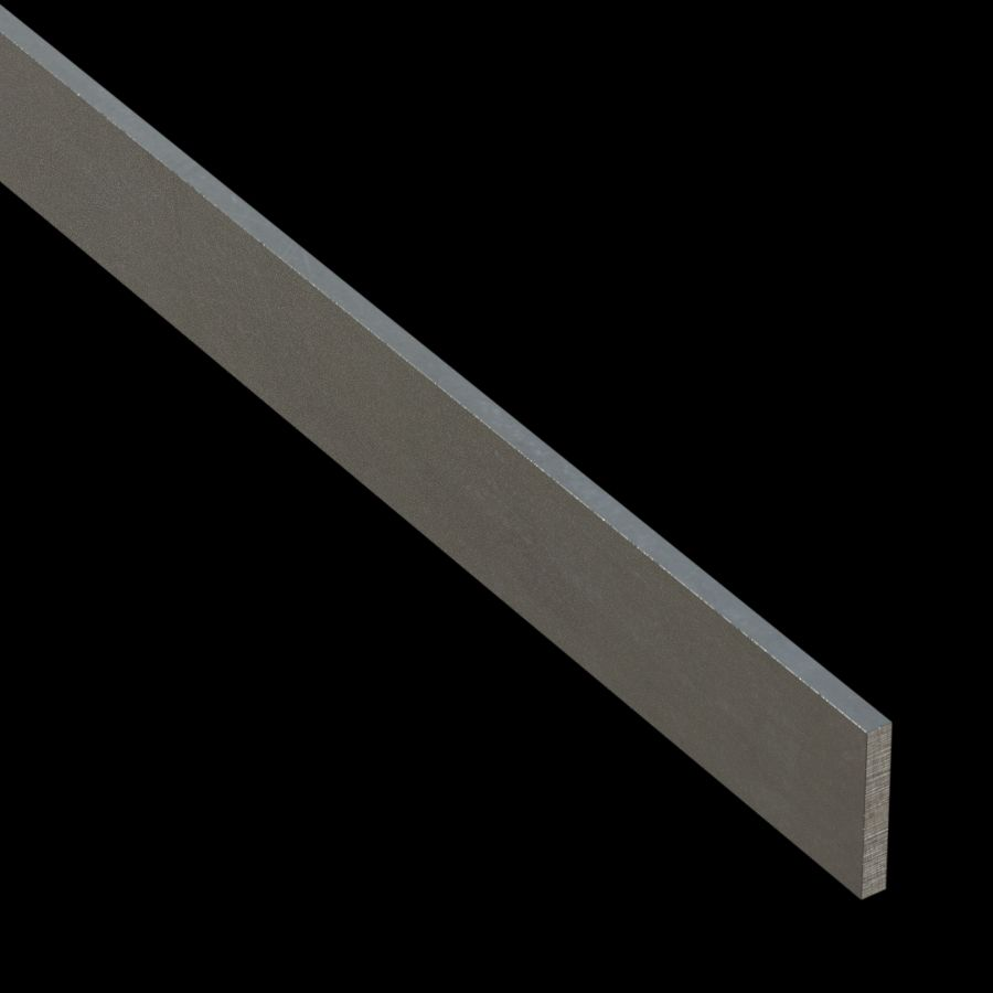 "McNICHOLS® Accessories Flat Bar, Aluminum, Aluminum Alloy, .1875"" Thick (3/16"" Gauge), Flat Bar (1-1/4"" Width)"