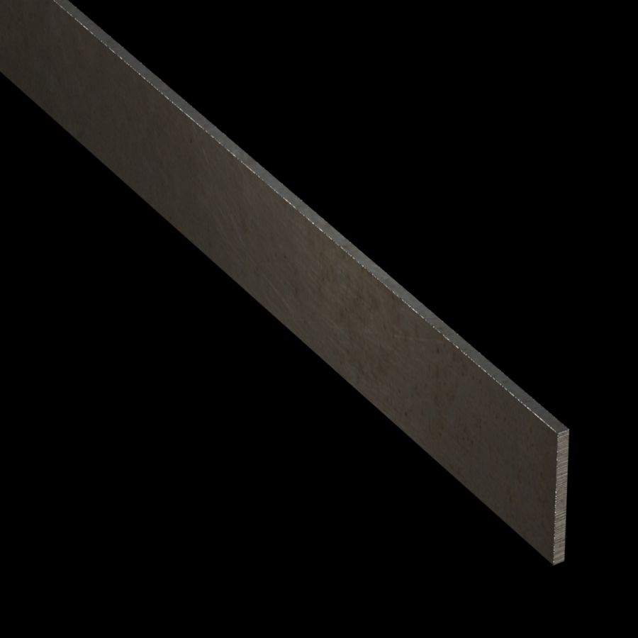 "McNICHOLS® Accessories Flat Bar, Carbon Steel, Hot Rolled, 1/8"" Gauge (.1250"" Thick), Flat Bar (1-1/2"" Width)"