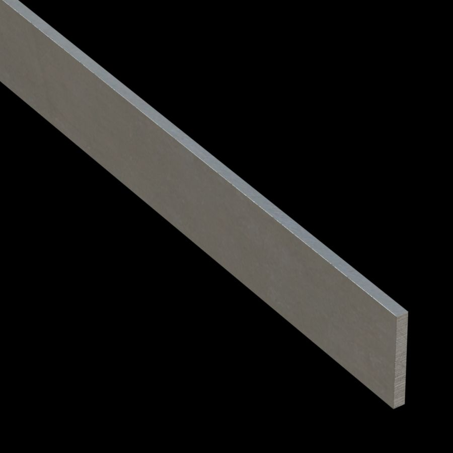 "McNICHOLS® Accessories Flat Bar, Aluminum, Aluminum Alloy, .1875"" Thick (3/16"" Gauge), Flat Bar (1-1/2"" Width)"