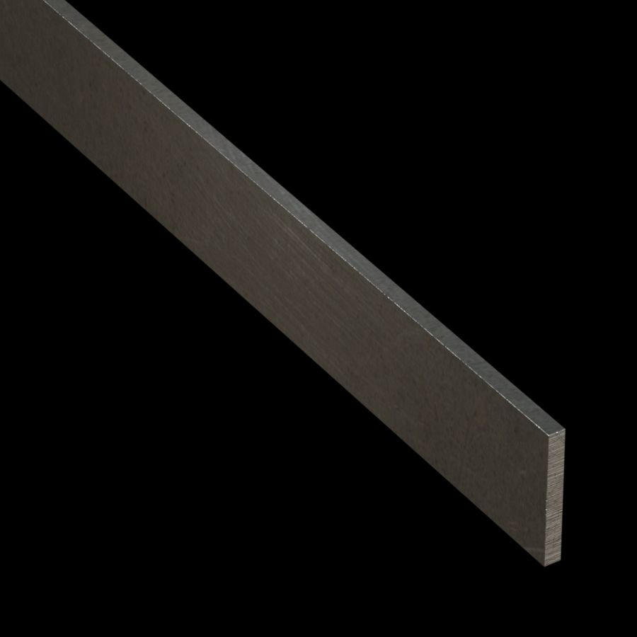 "McNICHOLS® Accessories Flat Bar, Carbon Steel, Hot Rolled, 3/16"" Gauge (.1875"" Thick), Flat Bar (1-1/2"" Width)"