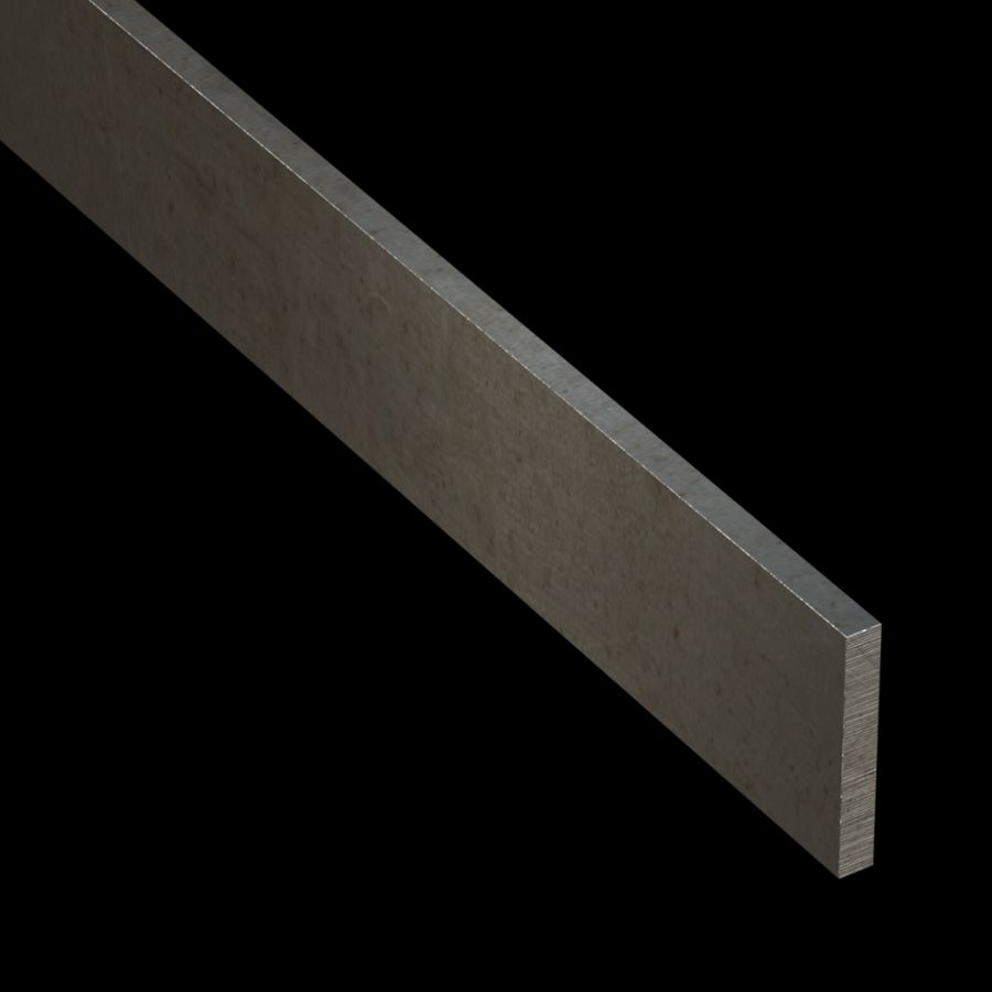 "McNICHOLS® Accessories Flat Bar, Carbon Steel, 1/4"" Gauge (.2500"" Thick), Flat Bar (1-3/4"" Width)"