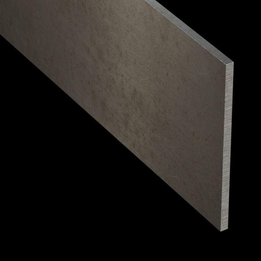 "McNICHOLS® Accessories Flat Bar, Carbon Steel, Hot Rolled, 1/4"" Gauge (.2500"" Thick), Flat Bar (5-1/2"" Width)"