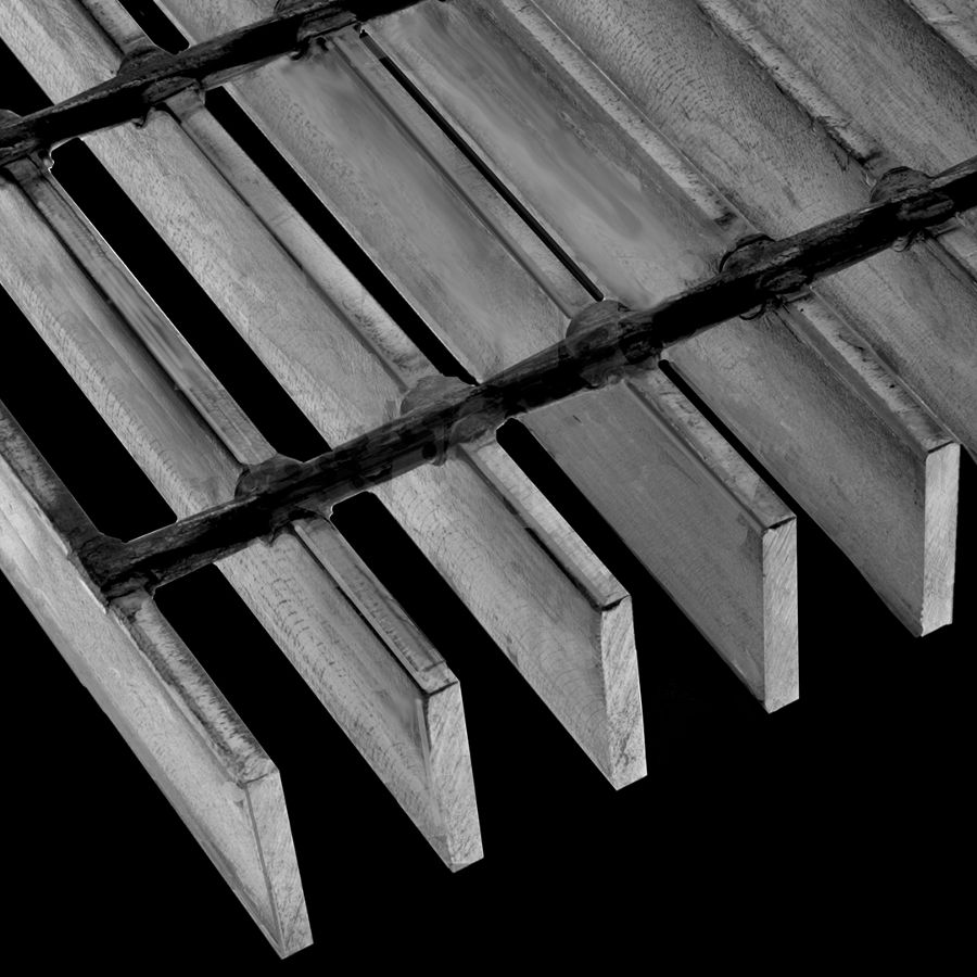 "McNICHOLS® Bar Grating Heavy-Duty Welded, Rectangular Bar, GHB-175, 19-W-4 Spacing, Carbon Steel, Hot Rolled, 1-3/4"" x 1/4"" Rectangular Bar, Smooth Surface, 72% Open Area"