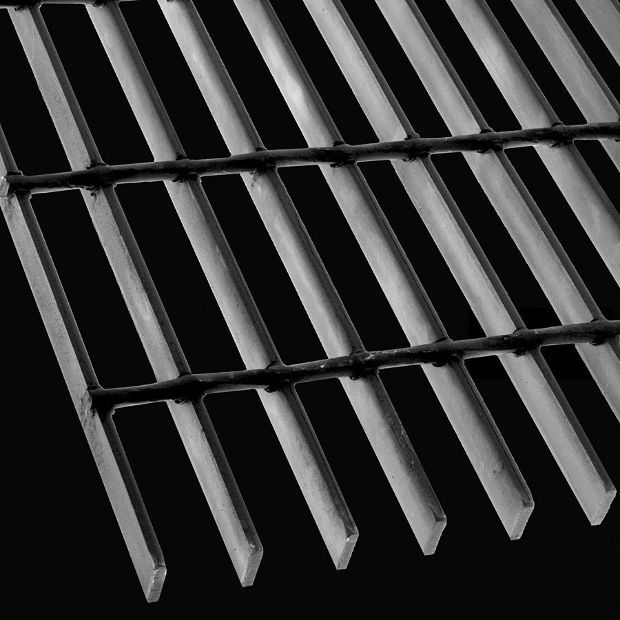 "McNICHOLS® Bar Grating Welded, Rectangular Bar, GW-75, 19-W-4 Spacing, Carbon Steel, Hot Rolled, 3/4"" x 3/16"" Rectangular Bar, Smooth Surface, 77% Open Area"