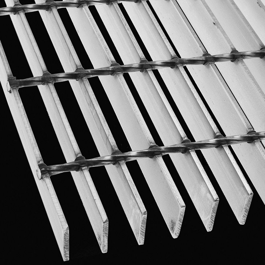 "McNICHOLS® Bar Grating Welded, Rectangular Bar, GW-150, 19-W-4 Spacing, Stainless Steel, Type 304L, 1-1/2"" x 3/16"" Rectangular Bar, Smooth Surface, 77% Open Area"