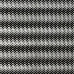 "McNICHOLS® Expanded Metal Designer Expanded, LANCETa""�� 1/16 #18, Carbon Steel, Cold Rolled, 1/16 #18 Flattened, 58% Open Area"