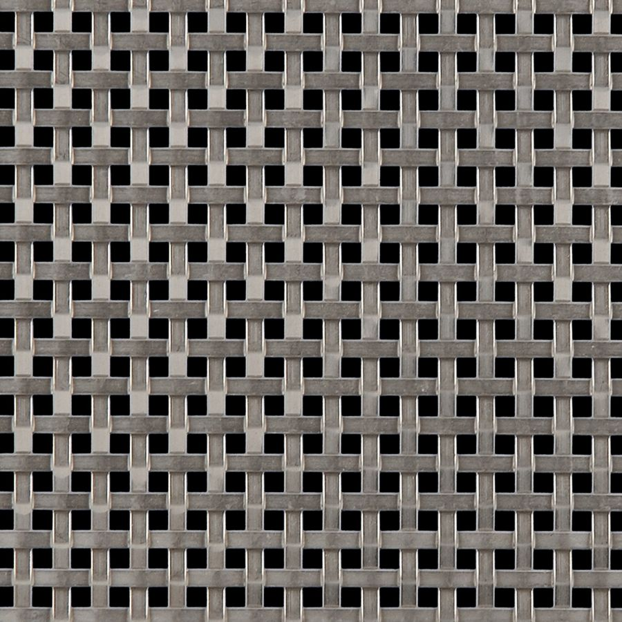 McNICHOLS® Wire Mesh Designer Mesh, ASHLAND™ 2015, Stainless Steel, Type 316, Woven - Flat Wire Plain Weave, 27% Open Area