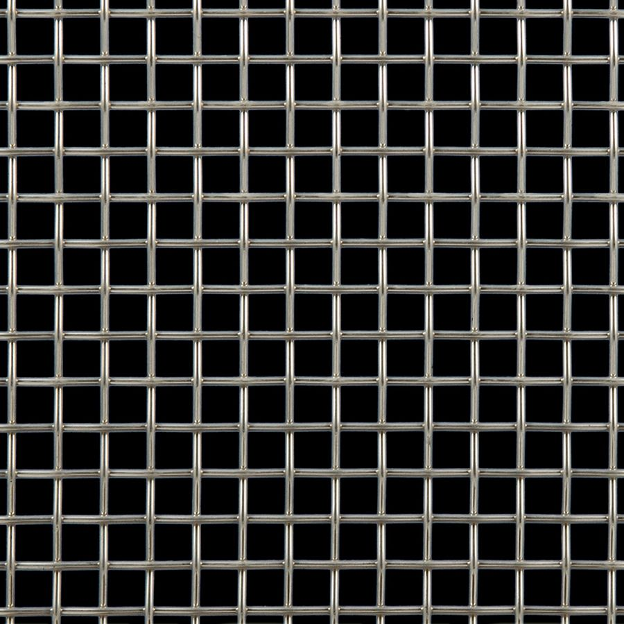 McNICHOLS® Wire Mesh Designer Mesh, TALICA™ 2100, Stainless Steel, Type 316, Woven - Plain Weave, 64% Open Area