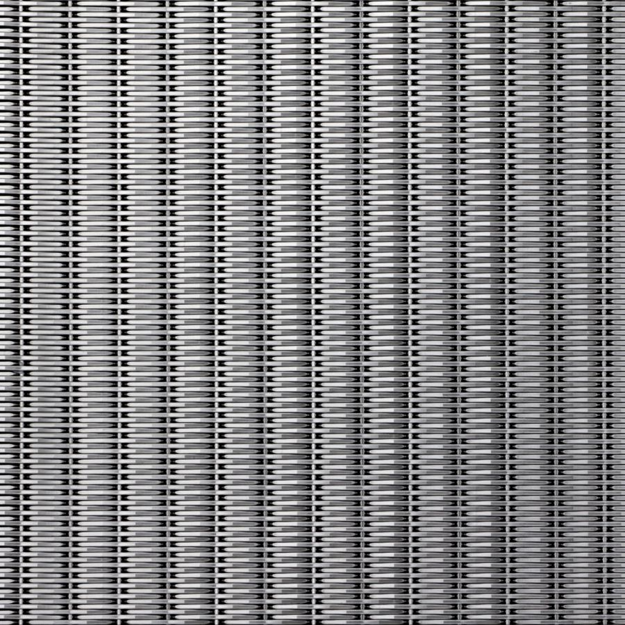 McNICHOLS® Wire Mesh Designer Mesh, SHIRE™ 2130, Stainless Steel, Type 316, Woven - Flat Top Cladding Weave, 0% Open Area