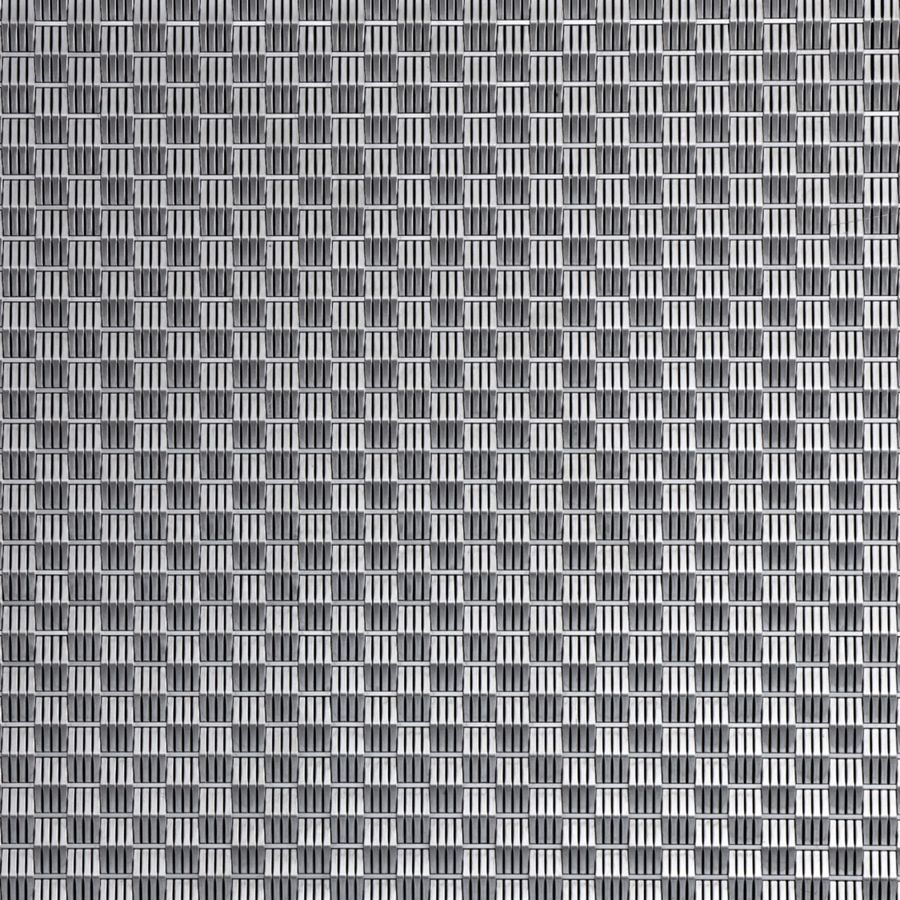 McNICHOLS® Wire Mesh Designer Mesh, SHIRE™ 2136, Stainless Steel, Type 316, Woven - Flat Wire Cladding Weave, 0% Open Area