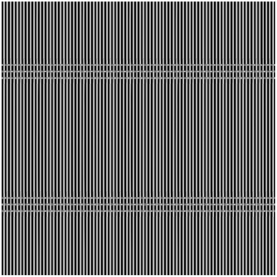 McNICHOLS® Wire Mesh Designer Mesh, SHIRE™ 8212, Stainless Steel, Type 316, Woven - Triple Shute Weave, 39% Open Area