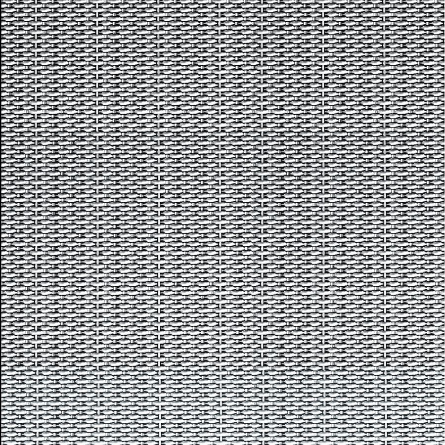 McNICHOLS® Wire Mesh Designer Mesh, SHIRE™ 9240, Stainless Steel, Type 316, Woven - Dutch-Style Weave, 0% Open Area