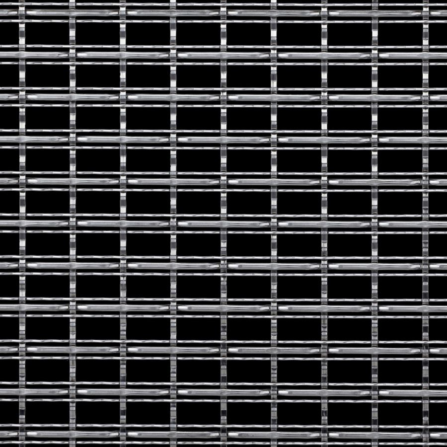 McNICHOLS® Wire Mesh Designer Mesh, TECHNA™ 3162, Bronze, Bronze Alloy, Woven - Three Crimp Styles Weave, 60% Open Area