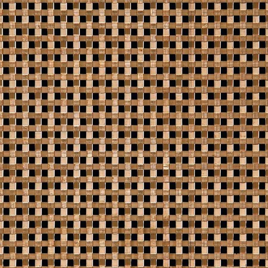 McNICHOLS® Wire Mesh Designer Mesh, ASHLAND™ 8017, Bronze, Bronze Alloy, Woven - Flat Wire Plain Weave, 25% Open Area