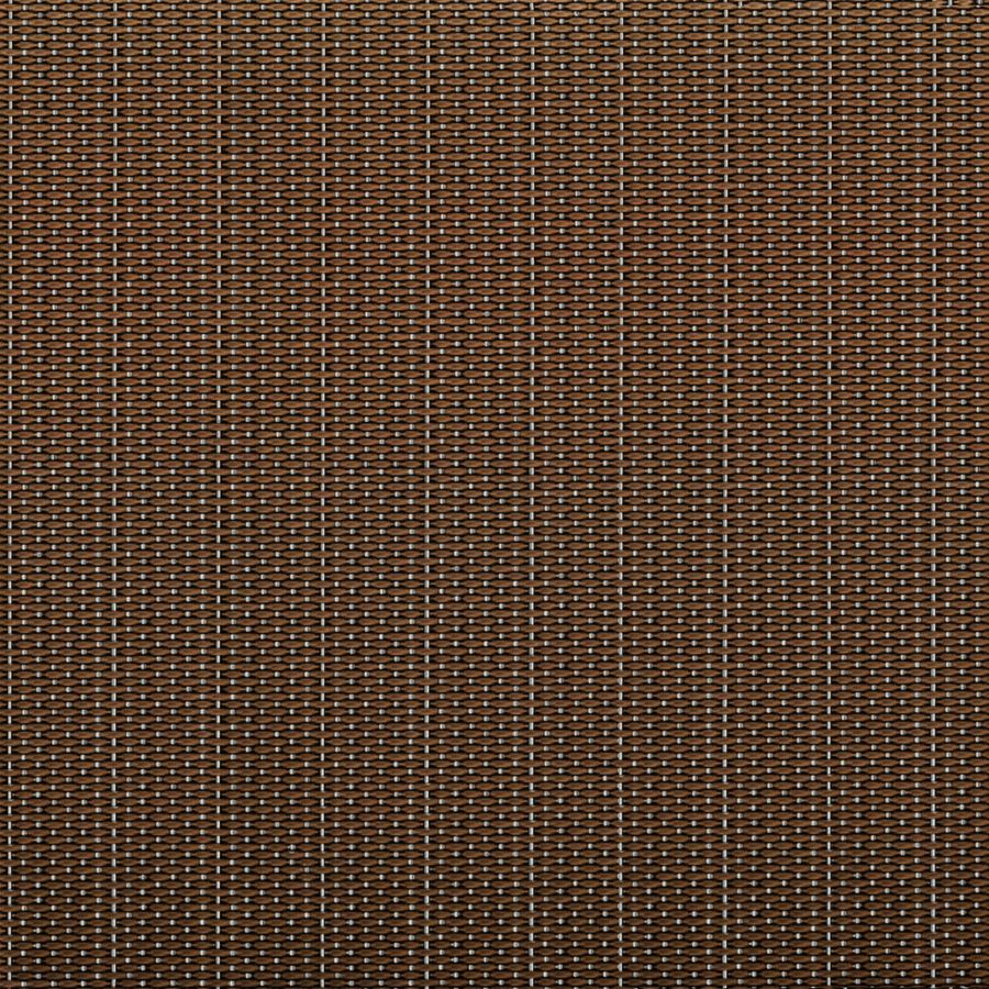 McNICHOLS® Wire Mesh Designer Mesh, SHIRE™ 9240, Bronze/Stainless Steel, Bronze Alloy/Type 304, Woven - Dutch-Style Weave, 0% Open Area