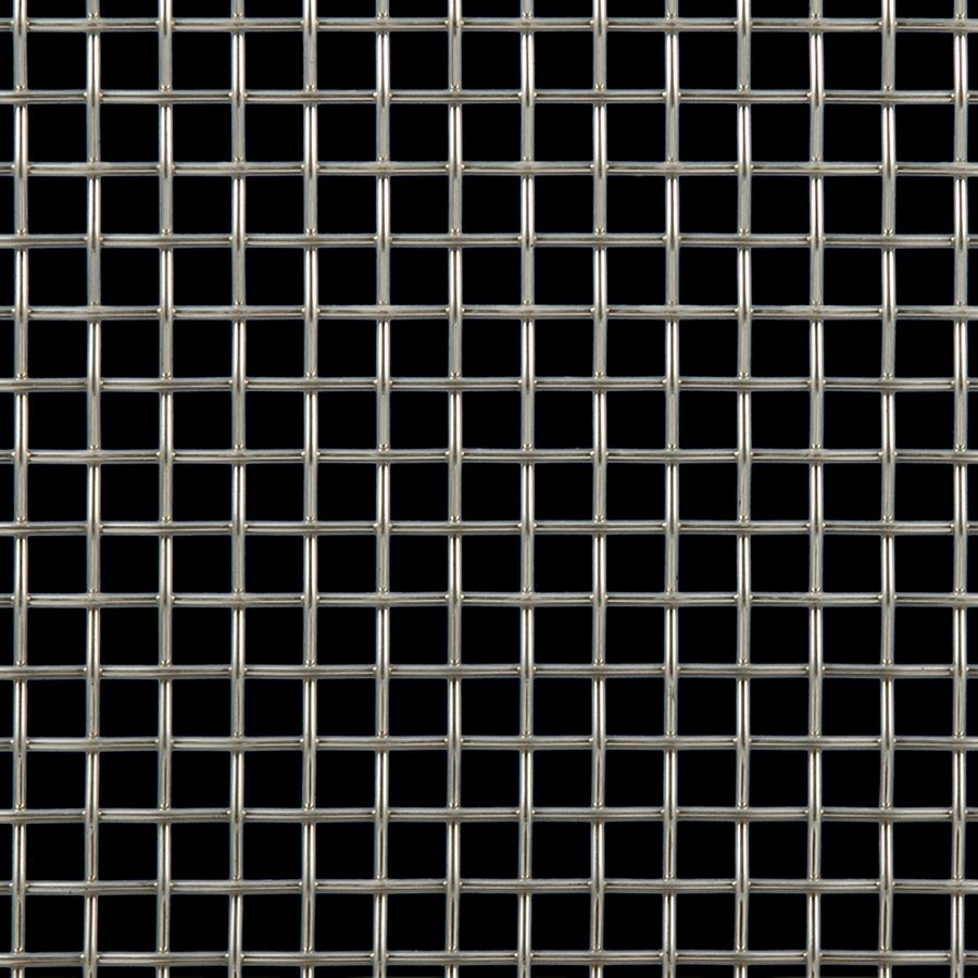 McNICHOLS® Wire Mesh Designer Mesh, TALICA™ 2100, Stainless Steel, Type 304, Woven - Plain Weave, 64% Open Area