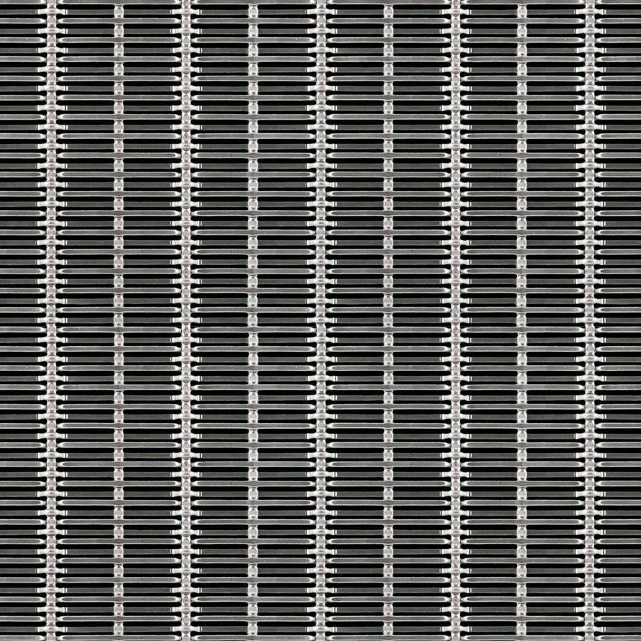 McNICHOLS® Wire Mesh Designer Mesh, SHIRE™ 2141, Stainless Steel, Type 304, Woven - Hollow Center Dutch-Style Weave, 32% Open Area
