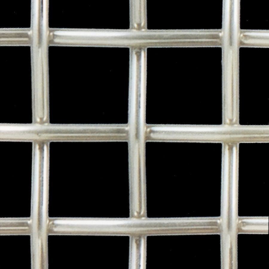 McNICHOLS® Wire Mesh Designer Mesh, TECHNA™ 3100, Stainless Steel, Type 304, Woven - Plain Weave, 65% Open Area