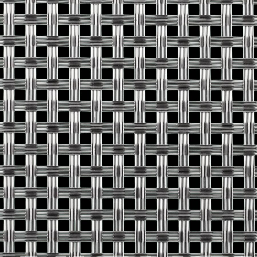McNICHOLS® Wire Mesh Designer Mesh, TALICA™ 8158, Stainless Steel, Type 304, Woven - Four Wire Weave, 34% Open Area