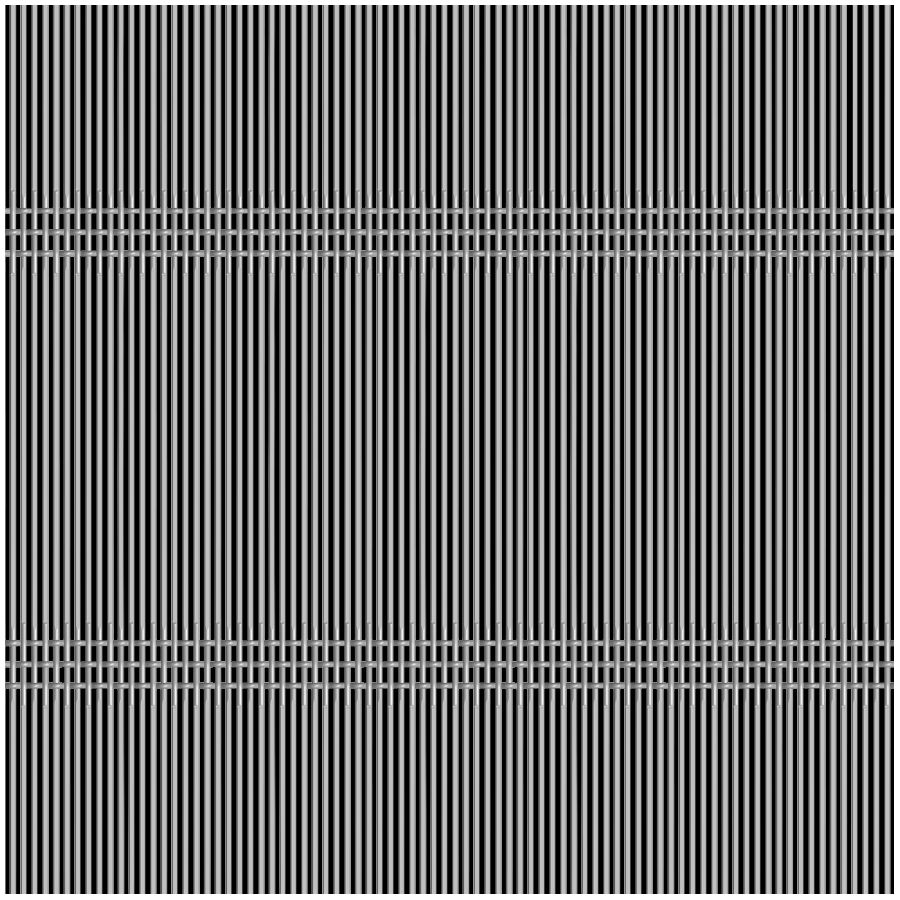 McNICHOLS® Wire Mesh Designer Mesh, SHIRE™ 8212, Stainless Steel (SS), Type 304, Woven - Triple Shute Weave, 39% Open Area