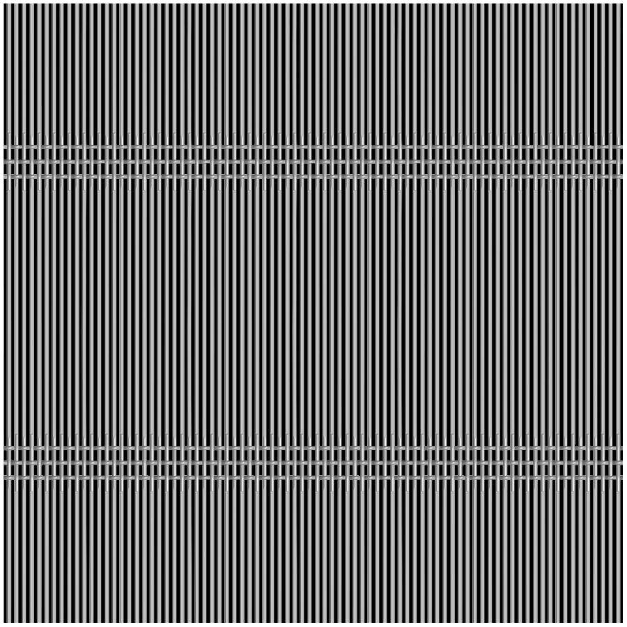McNICHOLS® Wire Mesh Designer Mesh, SHIRE™ 8212, Stainless Steel, Type 304, Woven - Triple Shute Weave, 39% Open Area