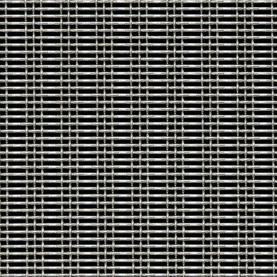 McNICHOLS® Wire Mesh Designer Mesh, SHIRE™ 8314, Stainless Steel, Type 304, Woven - Triple Shute Weave, 43% Open Area