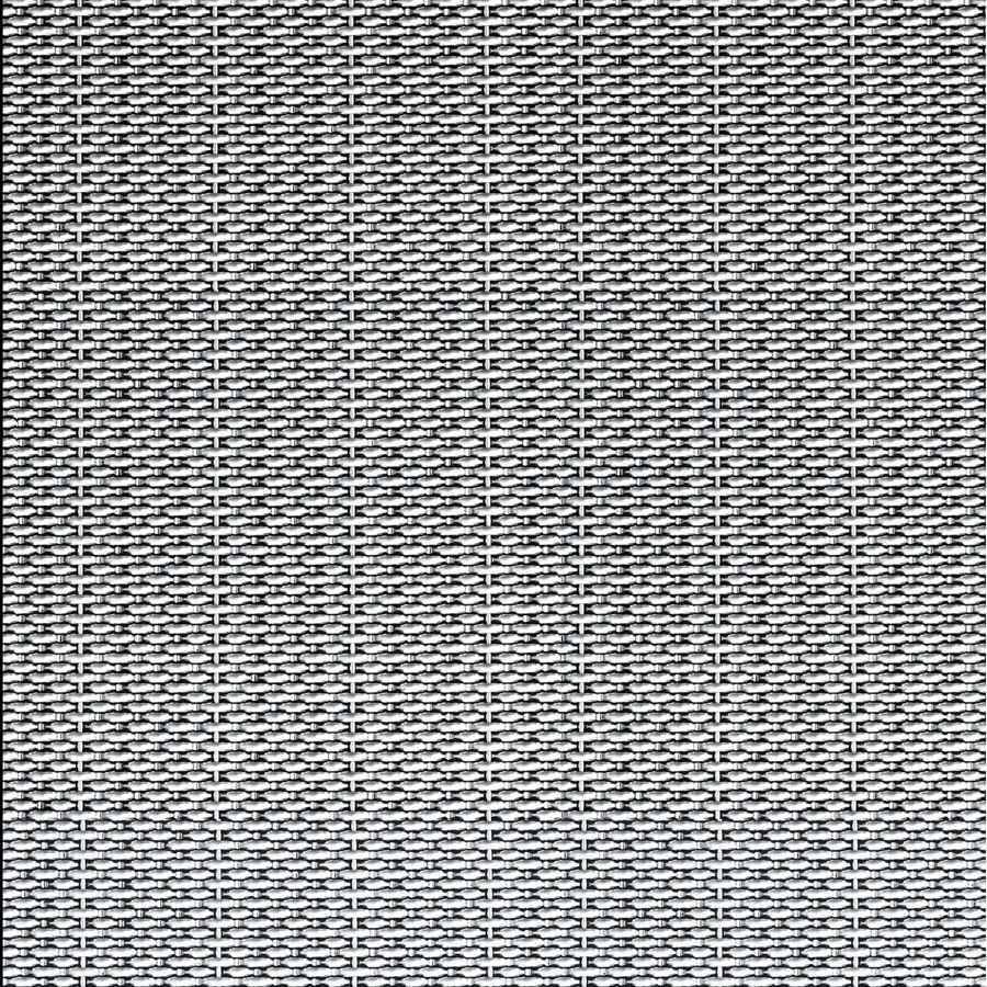 McNICHOLS® Wire Mesh Designer Mesh, SHIRE™ 9240, Stainless Steel, Type 304, Woven - Dutch-Style Weave, 0% Open Area