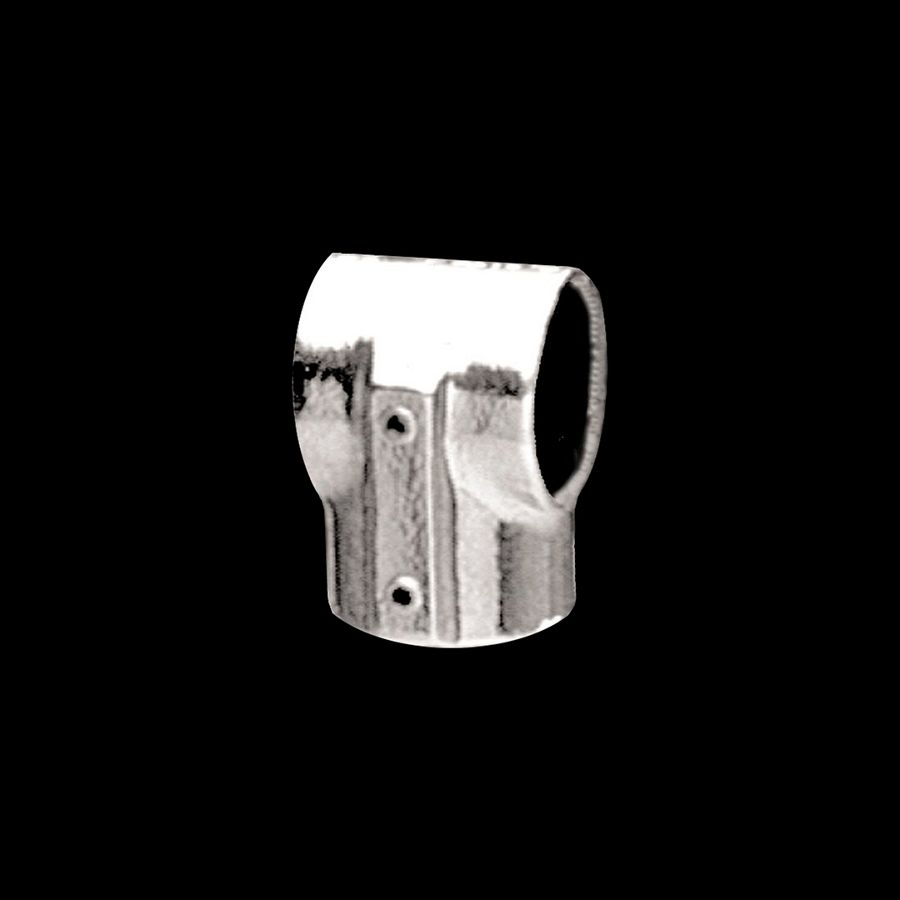 "McNICHOLS® Handrail Components Slip-On, Tee, Fixed, Aluminum, Aluminum Alloy, No. 5-E Tee, 1.070"" Inside Diameter, Fits 3/4"" Round Pipe with a 1.050"" Outside Diameter"