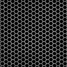 Hexagonal Perforated Aluminum 17642732 Mcnichols 174