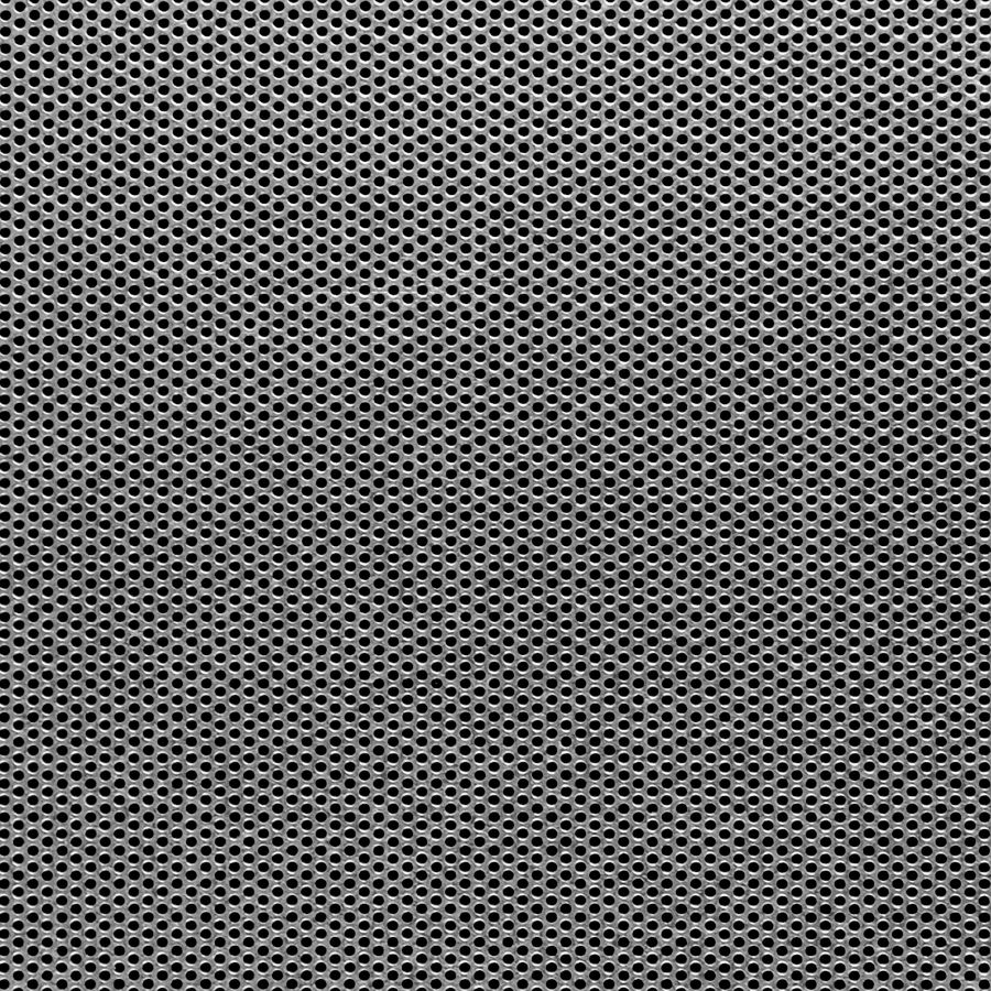 "McNICHOLS® Perforated  Metal Round, Galvanized, G90, 22 Gauge (.0336"" Thick), 1/16"" Round on 3/32"" Staggered Centers, 40% Open Area"