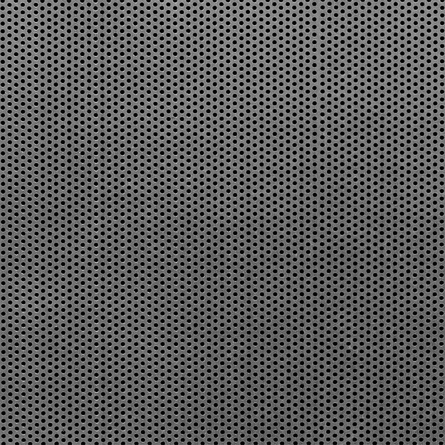 "McNICHOLS® Perforated Metal Round, Carbon Steel, Cold Rolled, 16 Gauge (.0598"" Thick), 1/16"" Round on 7/64"" Staggered Centers, 30% Open Area"