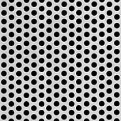 Mcnichols Perforated Metal Round Carbon Steel Cold Rolled 20 Gauge