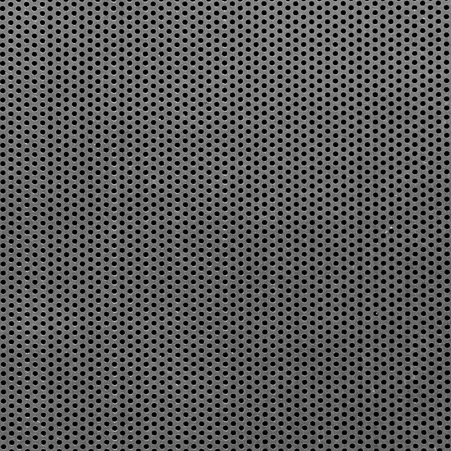 "McNICHOLS® Perforated Metal Round, Aluminum, Alloy 3003-H14, .0630"" Thick (14 Gauge), 1/16"" Round on 7/64"" Staggered Centers, 30% Open Area"