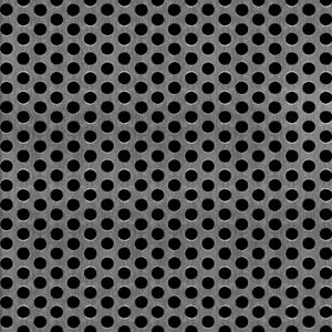 """Perforated Metal Aluminum Sheet 1//16/"""" Thickness 24/"""" x 24/"""" 1//4/"""" hole 3//8/"""" stagger"""