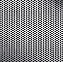Mcnichols Perforated Metal Round Aluminum Alloy 3003 H14 0500