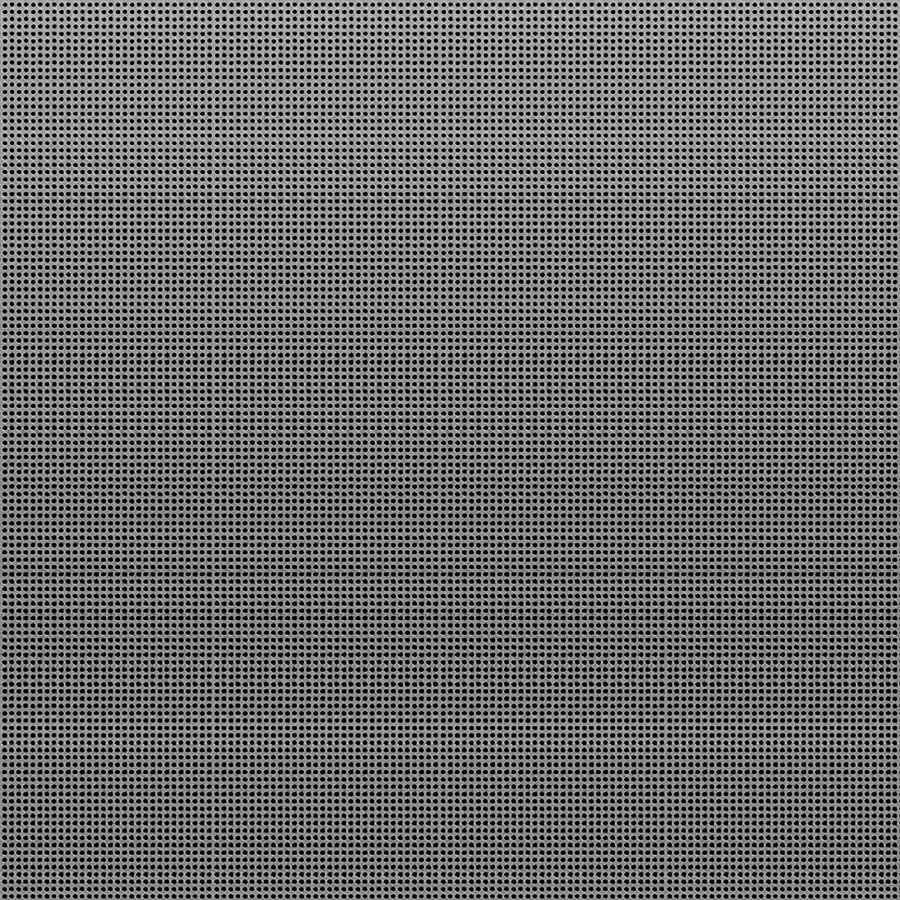 "McNICHOLS® Perforated  Metal Round, Aluminum, Alloy 3003-H14, .0320"" Thick (20 Gauge), 0.033"" Round on 0.050"" Straight Centers, 34% Open Area"