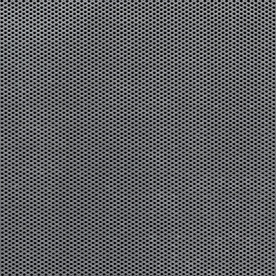 """McNICHOLS® Perforated  Metal Round, Stainless Steel, Type 304, 20 Gauge (.0375"""" Thick), 1/16"""" Round on 3/32"""" Staggered Centers, 40% Open Area"""