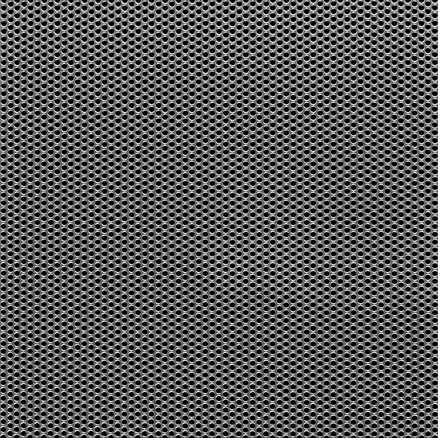 "McNICHOLS® Perforated  Metal Round, Stainless Steel, Type 304, 20 Gauge (.0375"" Thick), 5/64"" Round on 7/64"" Staggered Centers, 46% Open Area"
