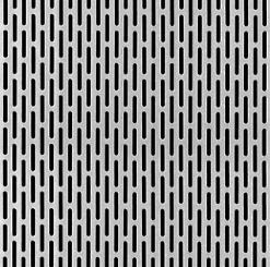 Slotted Hole - Perforated Metal | McNICHOLS
